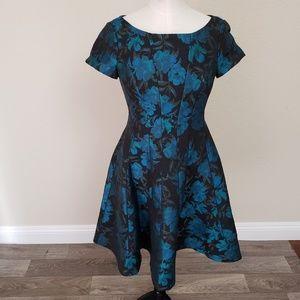 Nue By Shani Blue Label Floral Dress Size 0